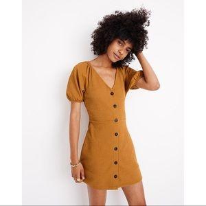 Madewell Texture & Thread Puff Sleeve Dress